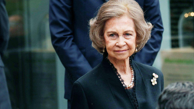 La reina Sofía. (Reuters)