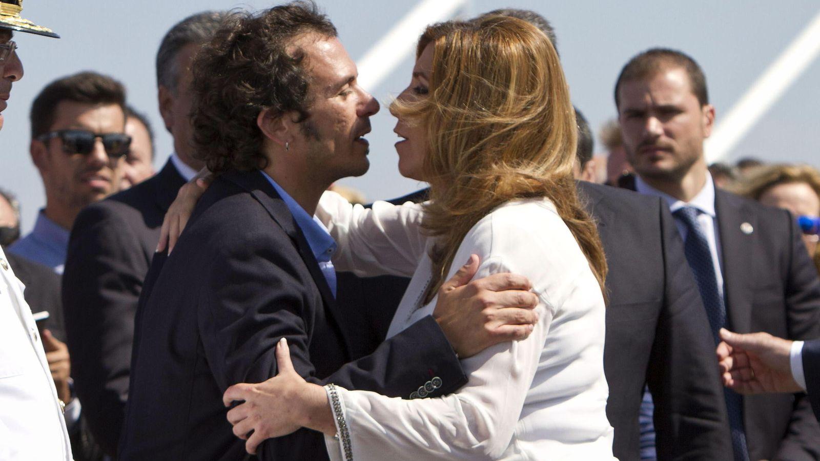 Foto: La presidenta de la Junta de Andalucía, Susana Díaz, y el alcalde de Cádiz, José María González, 'Kichi', el pasado mes de septiembre. (EFE)