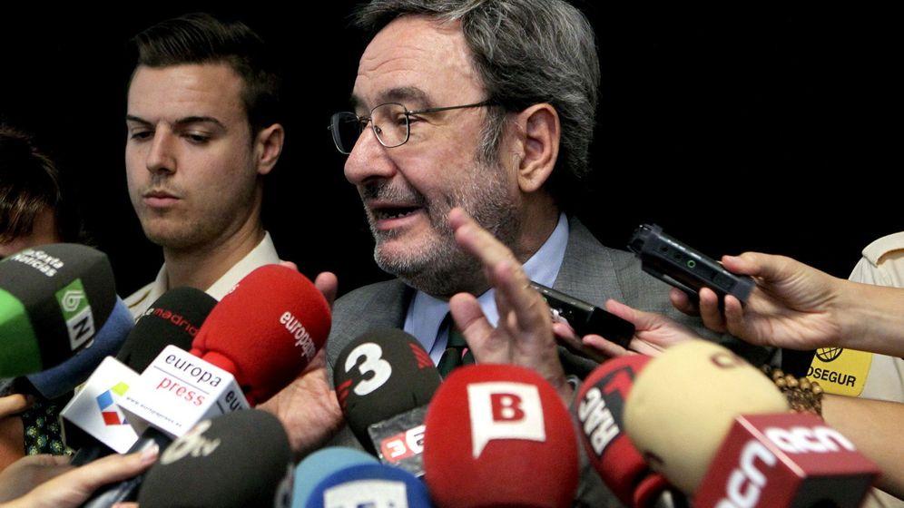 Foto: Serra tras su declaración judicial. (EFE)