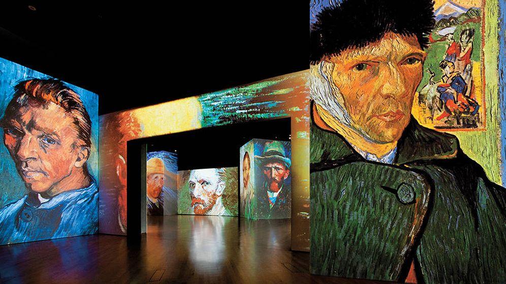 Foto: Las obras del genial pintor Van Gogh quedan expuestas como nunca. (Cortesía)