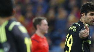 Diego Costa tampoco destierra la idea de que España juegue con falso '9'