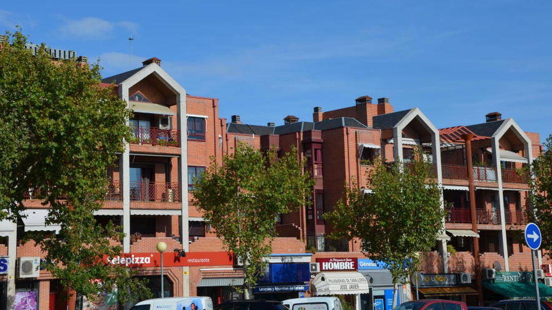 Imagen de un bloque de edificios en Pozuelo de Alarcón. (Madrid).
