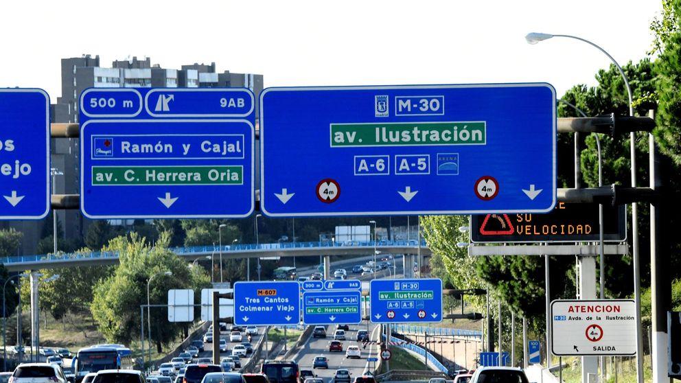Los 10 radares que más multan de Madrid o por qué la M-30 es una máquina de recaudar
