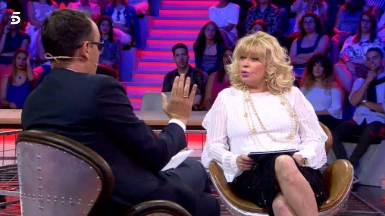 Bárbara Rey reaparece en televisión de mano de Risto y con indirectas al Rey emérito