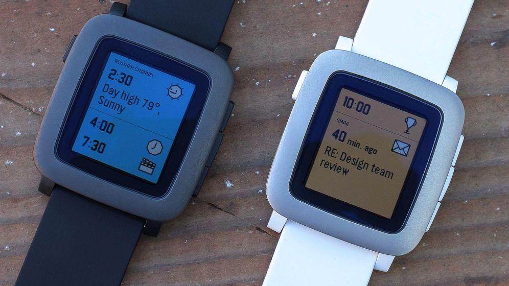 Foto: Así es un día normal con el Pebble Time, el gran rival del Apple Watch