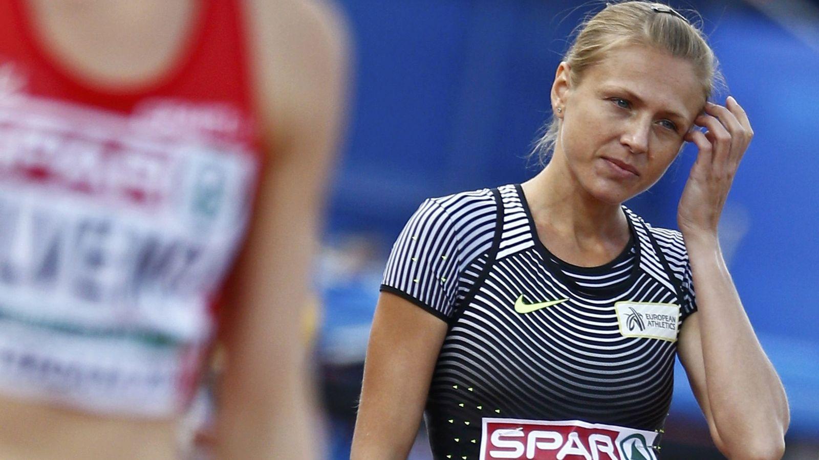 Foto: Yulia Stepanova en el Campeonato Europeo. Foto: Michael Kooren (Reuters)