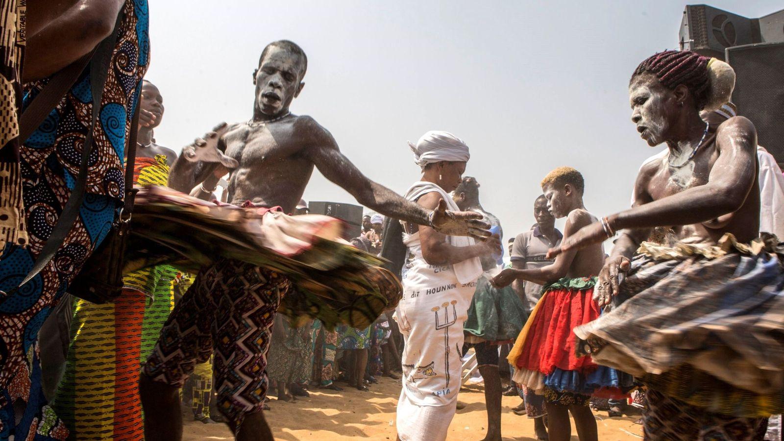 Foto: ritual de vudú. (EFE)
