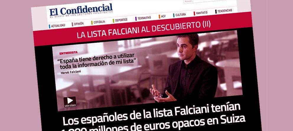 Foto: La lista Falciani, la corrupción y 'El Confidencial'