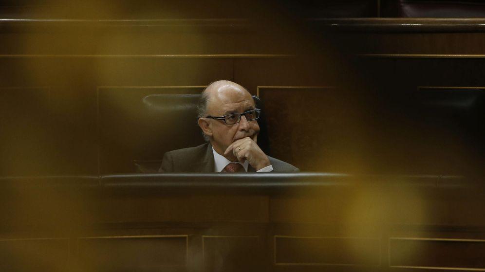 Foto: El ministro de Hacienda, Cristobal Montoro. (EFE)