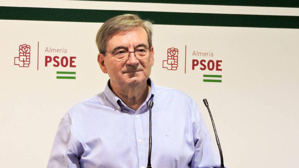 Foto: El secretario general del PSOE en Almería, Fernando Martínez. (PSOE Almería)