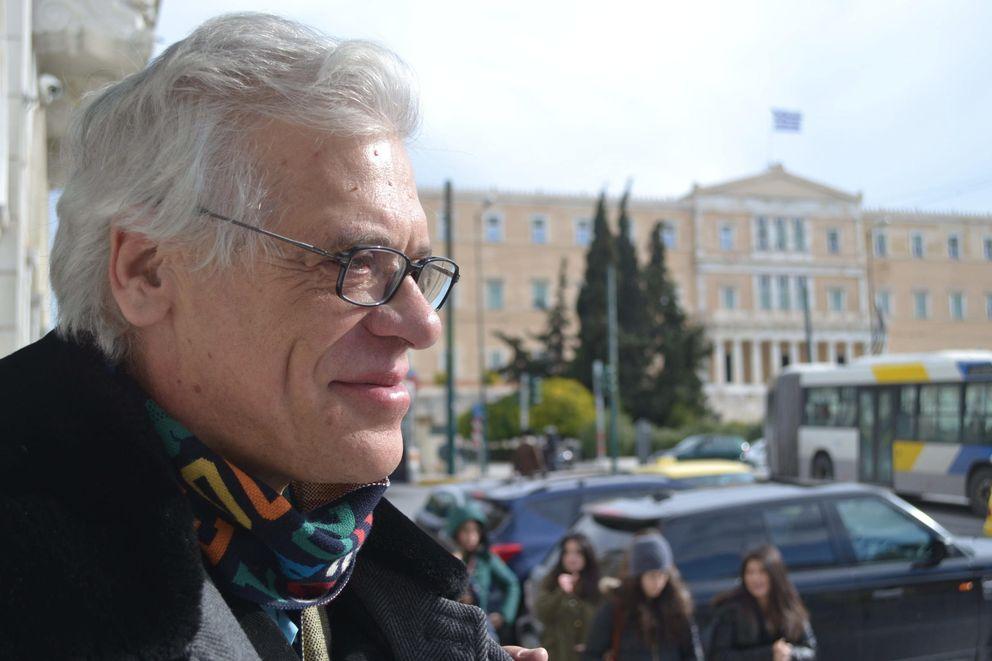Foto: El jefe de Economía de Syriza, Giannis Miliós (EFE)