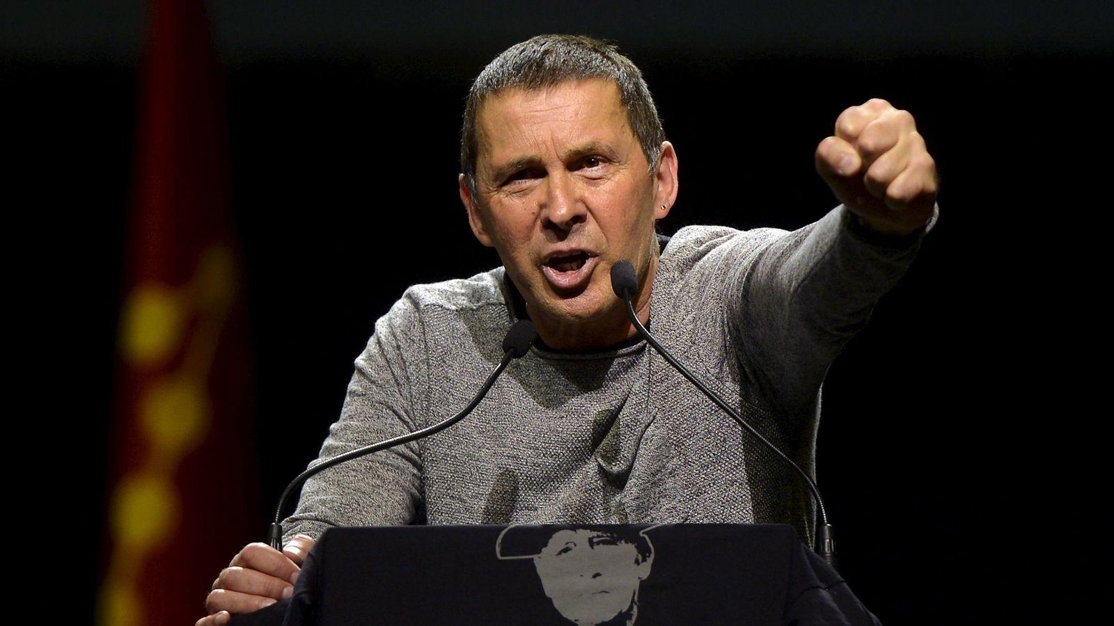 Foto: El dirigente 'abertzale' Arnaldo Otegi. (Reuters)
