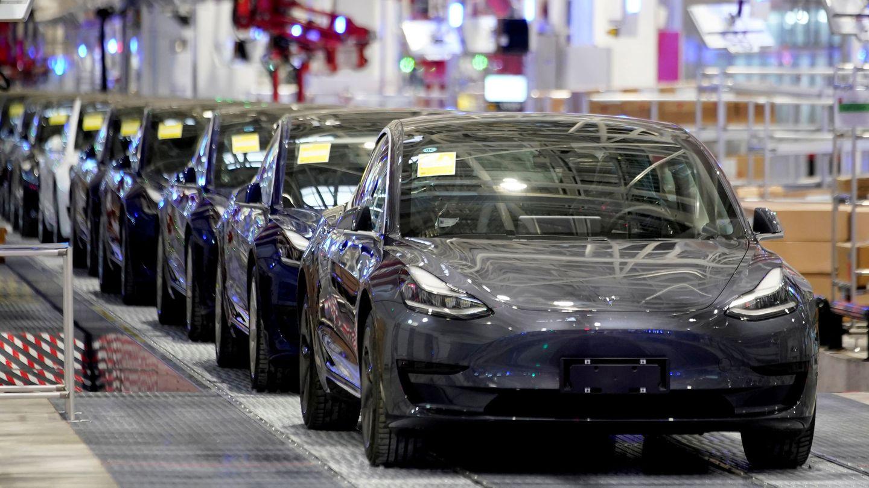 Fábrica de Tesla en Shangai (Reuters)