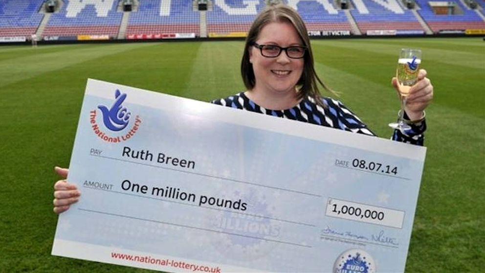 Ganó un millón a la lotería, pero sigue en su mismo trabajo cinco años después