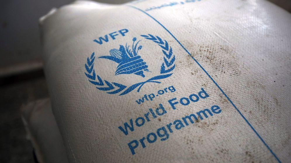 Foto: Raciones del WFP distribuidas en Yemen. (EFE)