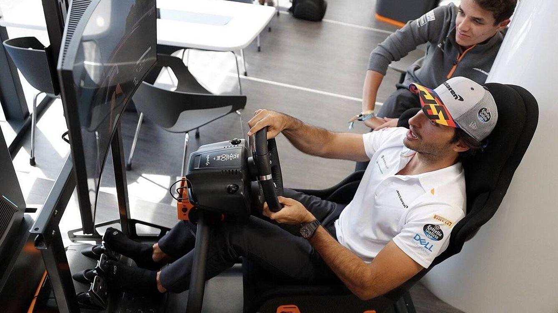 Foto: Carlos Sainz y Lando Norris tienen una relación particularmente buena para lo que suele estilarse entre dos compañeros del mismo equipo (McLaren)