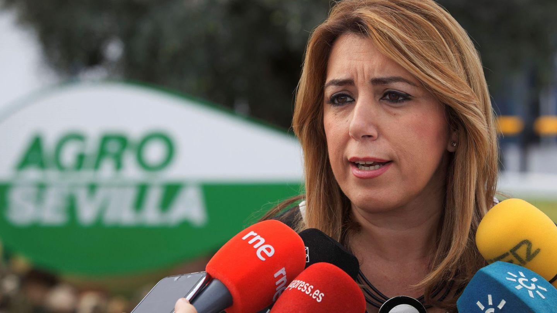 La presidenta andaluza, Susana Díaz. (EFE)