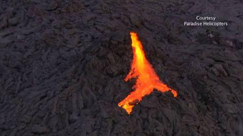 El volcán Kilauea deja escapar espectaculares ríos de lava en Hawaii