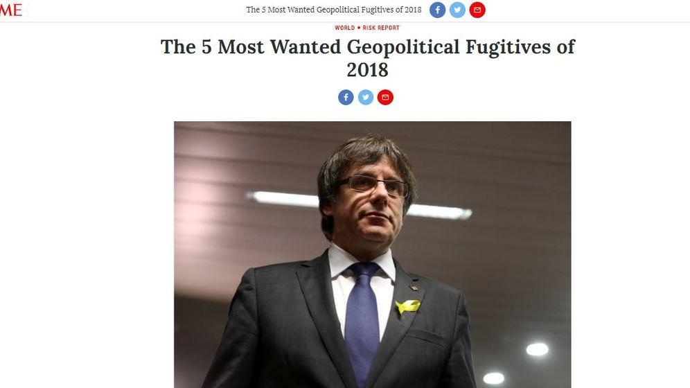 Foto: Artículo de la revista 'Time'.
