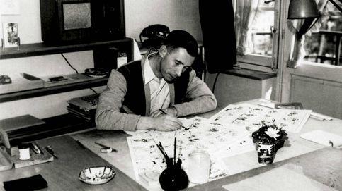 París rinde homenaje al padre de Tintín