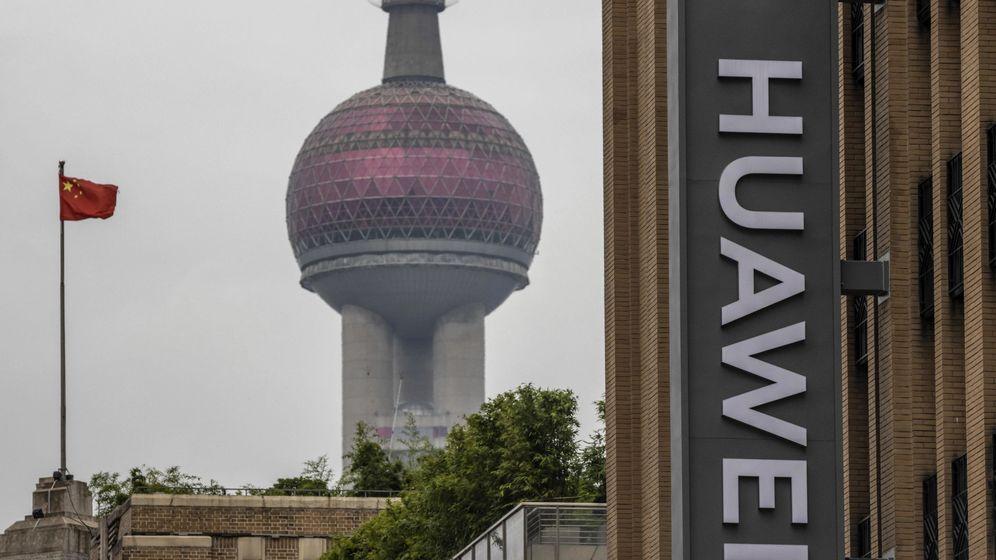 Foto: Huawei en el Reino Unido. (EFE)