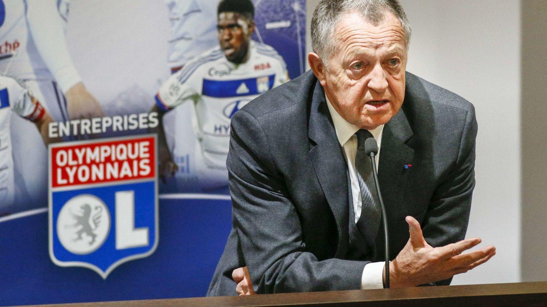 Jean-Michele Aulas, presidente del Olympique de Lyon. (Efe)