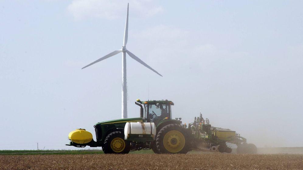 Foto: Parque eólico en Kansas. (EFE)