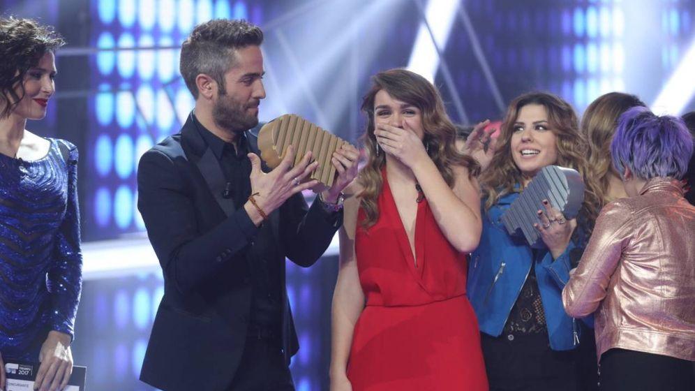 Foto: Amaia es la ganadora de 'Operación Triunfo 2017'.