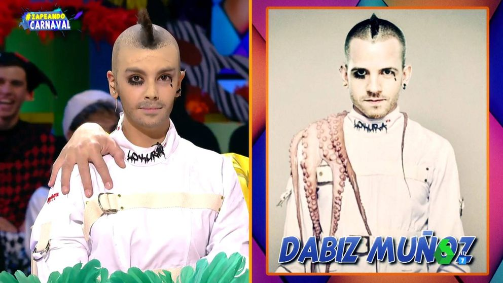 Pedroche sorprende al disfrazarse de Dabiz Muñoz en 'Zapeando'