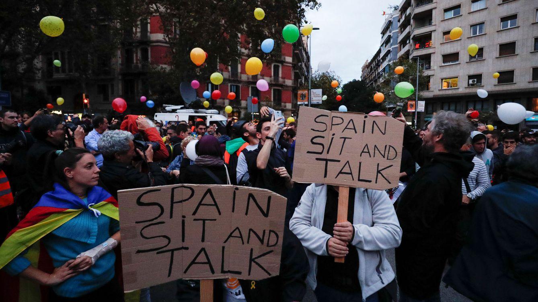 Así hemos vivido la octava jornada de protestas en Cataluña por la sentencia
