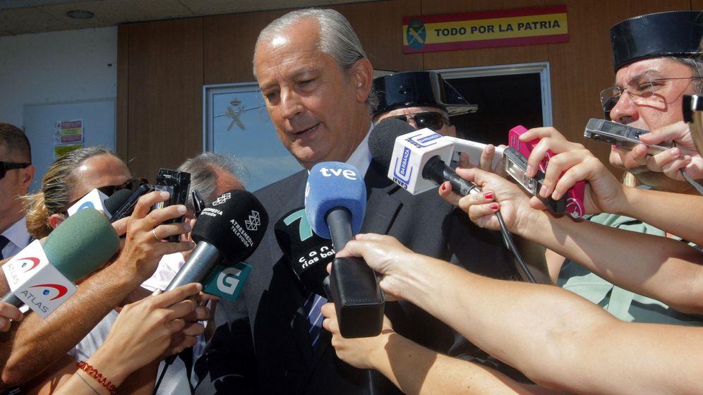 Foto: Arsenio Fernández de Mesa visitó el viernes a los investigadores encargados del caso Diana. (EFE)