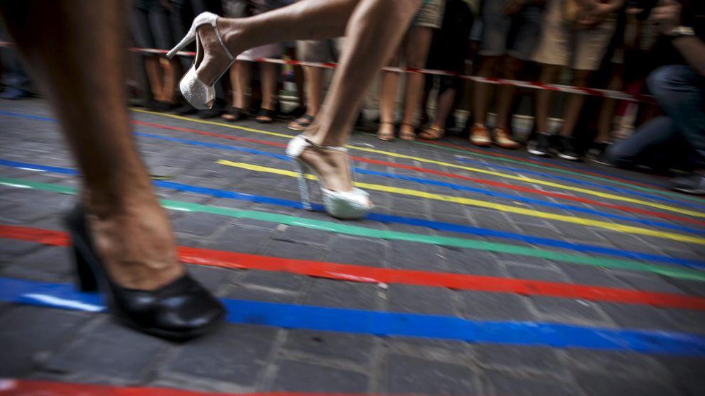 La carrera de tacones del Orgullo Gay de Madrid, en imágenes