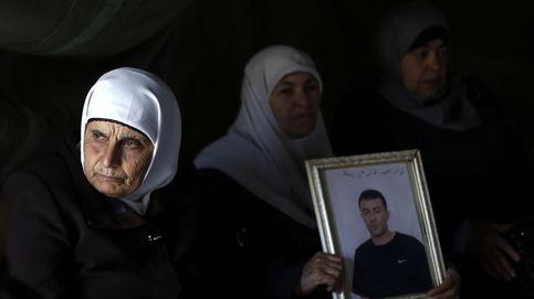 Protesta en solidaridad con los prisioneros palestinos