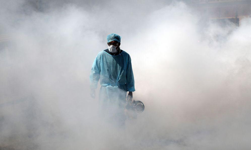 Foto: Vida cotidiana en medio de la pandemia de coronavirus. (EFE)