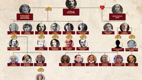Árbol genealógico: la descendencia del rey Alfonso XIII