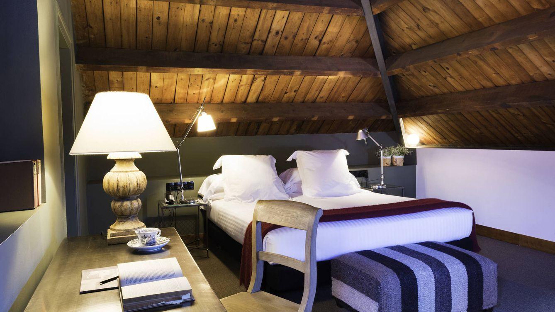 Foto: Una de las habitaciones del hotel Primero Primera, en Barcelona. (Cortesía)