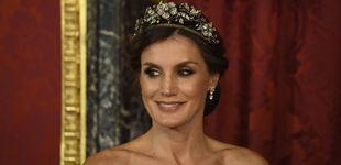 Post de La reina Letizia, ocho años después: mismo vestido, distinta mujer