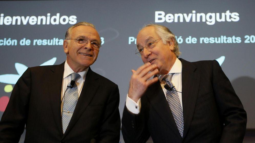 Foto: Isidre Fainé y Juan María Nin, en 2013. (Reuters)