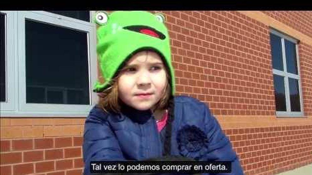 La niña que quiere vender a su hermano para comprarse un búho de juguete