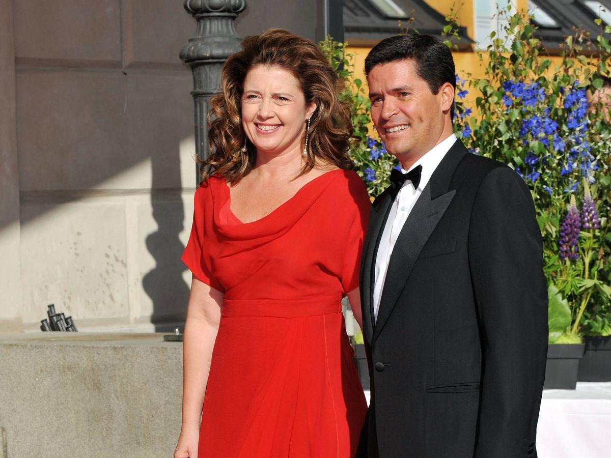 Foto: La princesa Alexia y su marido, Carlos Morales. (Getty)