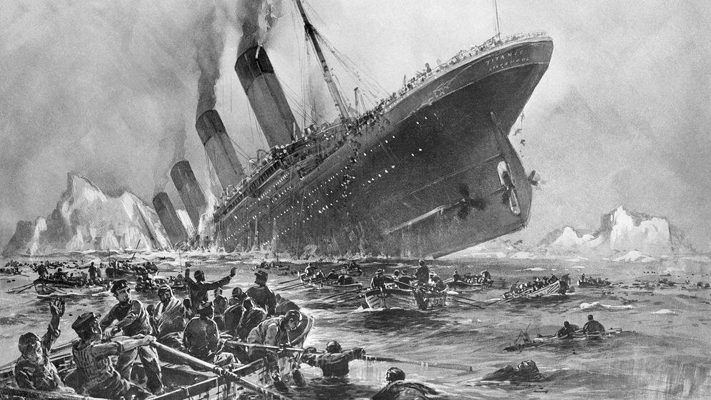 Foto: El RMS Titanic