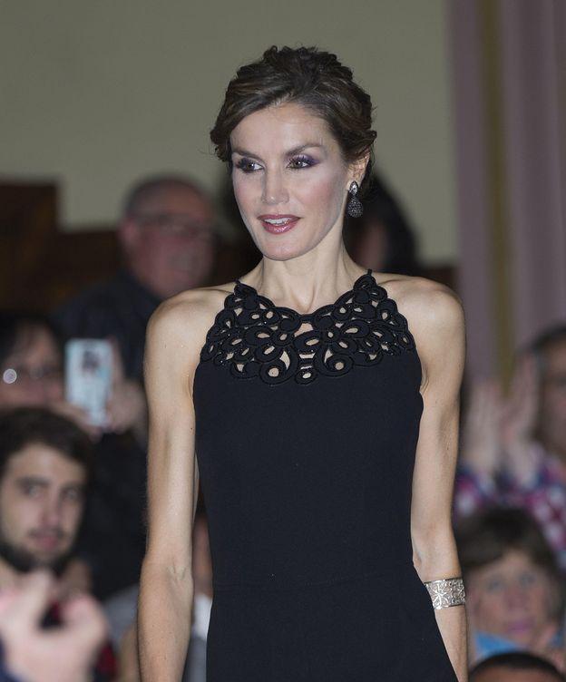 Foto: Doña Letizia, durante el tributo a Coppola