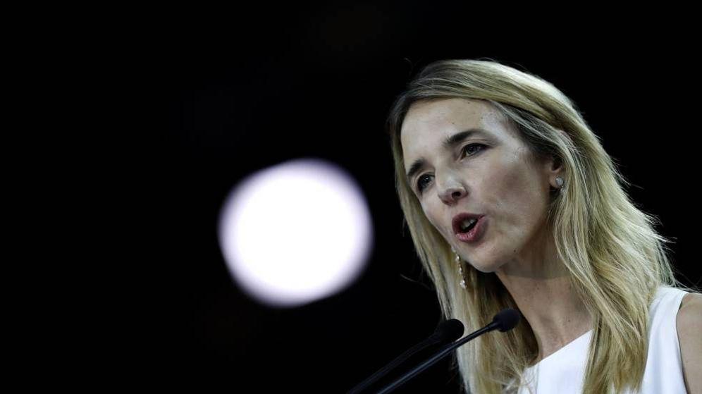 Foto: La portavoz del PP en el Congreso de los Diputados, Cayetana Álvarez de Toledo. (EFE)