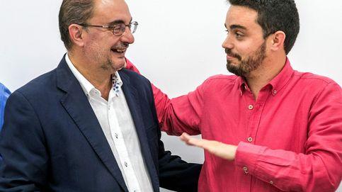 Lambán llega a su elección con la alianza con Podemos que Sánchez no logró