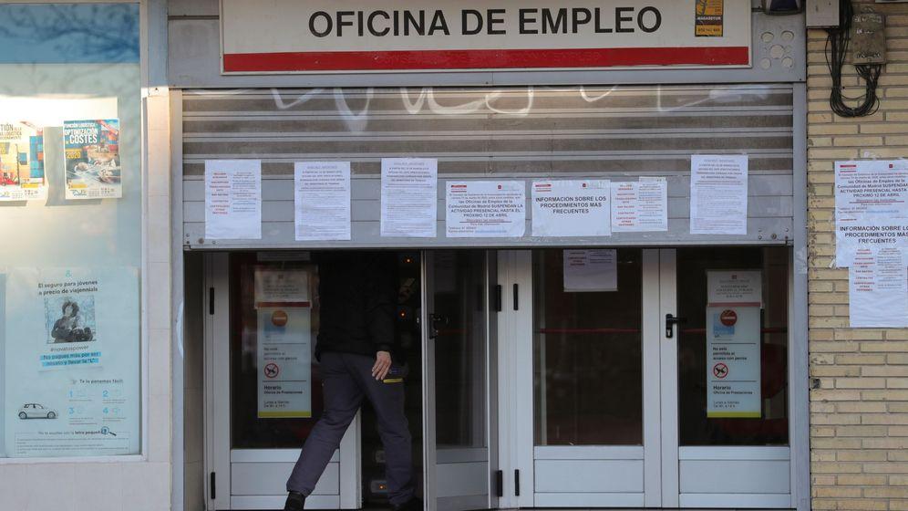 Foto: Imagen de una oficina de empleo en Madrid. (EEE)