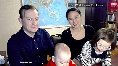 Habla el protagonista interrumpido por sus hijos en directo en la BBC