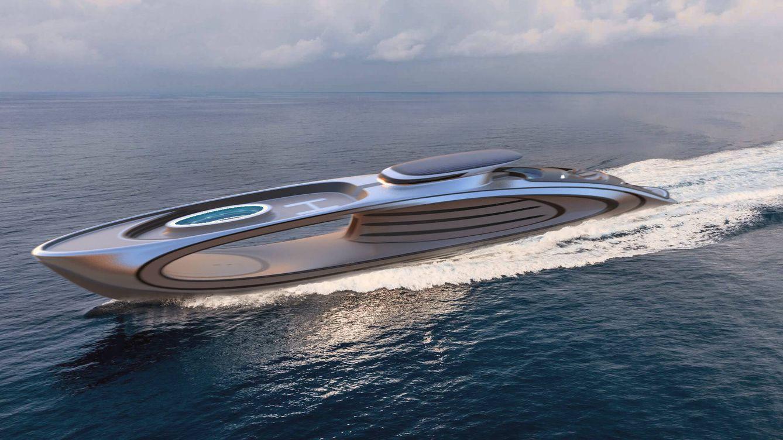 Foto: El megayate Shape de 226 pies (Lazzarini Design)