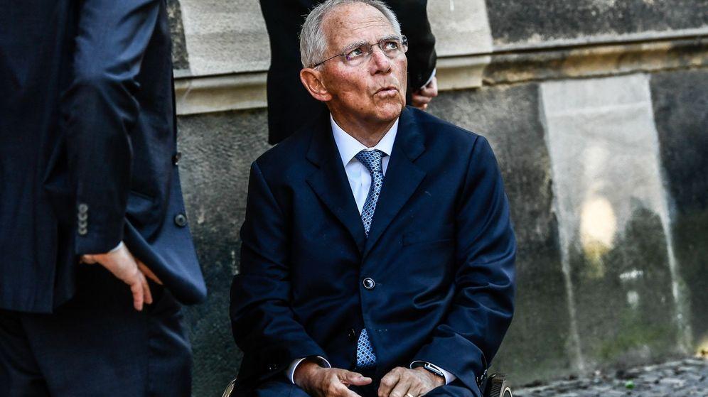 Foto: El exministro de Finanzas alemán Wolfgang Schäuble. (EFE)