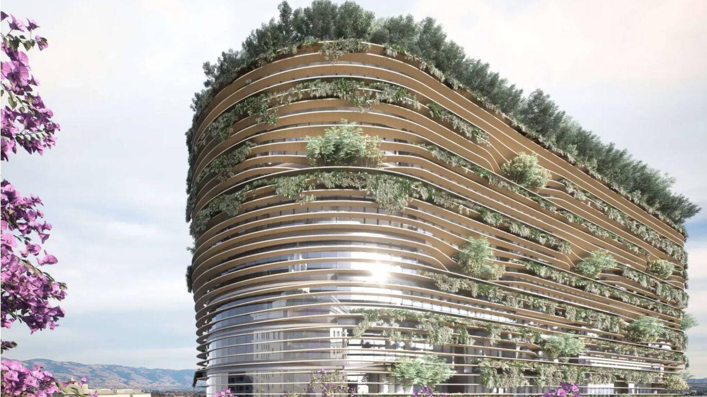 Foto: Este edificio no solo no emite CO2 sino que también lo puede eliminar (BIG)