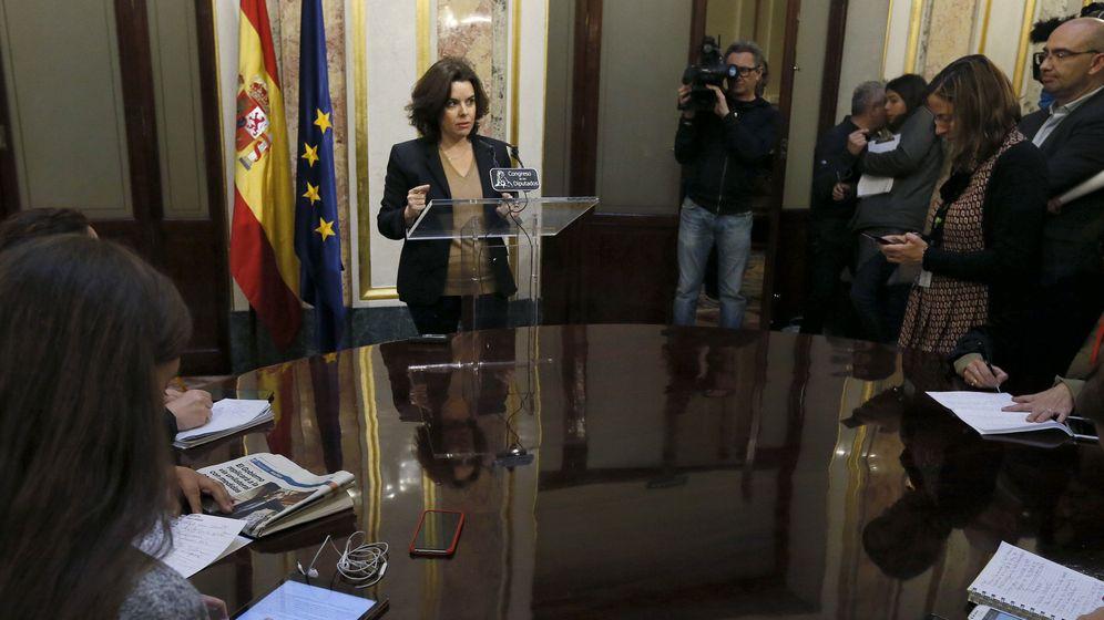 Foto: La vicepresidenta del Gobierno, Soraya Sáenz de Santamaría. (EFE)
